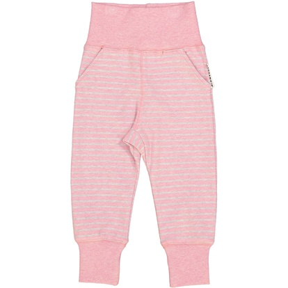 Baby Pant Classic Pink Daisy stripe