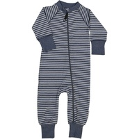 Two way zip -Pyjamas Classic Marin blue stripe