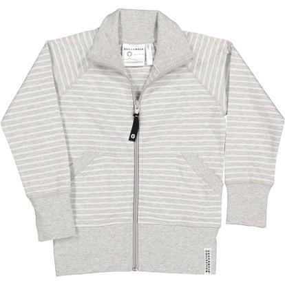 Zip-tröja Classic Ljusgrå randigt ... 6dd926faabf67