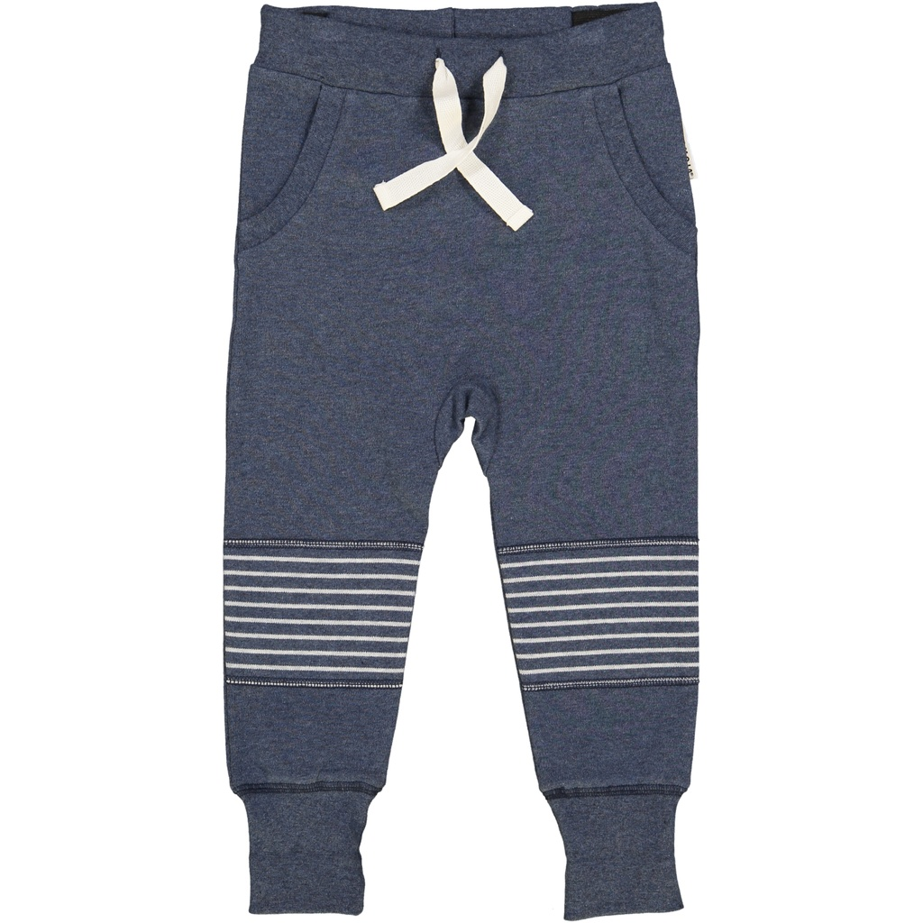 Sweatpant Classic Marin blue solid 146/152