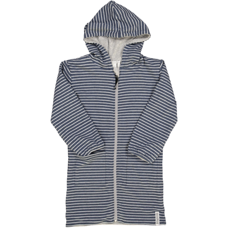 Bathrobe Classic Marin blue stripe 110/116