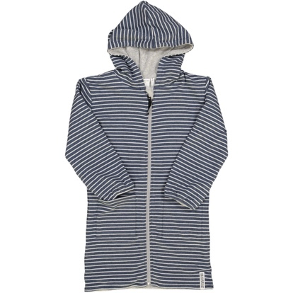 Bathrobe Classic Marin blue stripe
