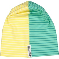 Two col cap Yellow/white