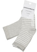 Sock Classic 2-pack Light grey solid 37-39