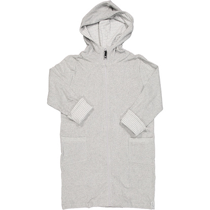 Women Bathrobe Grey