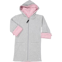 Bathrobe Classic Pink Daisy stripe