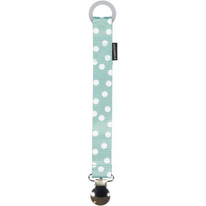 Pacifier Holder Dust mint dot One Size