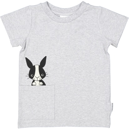 Ss Tee Grey rabbit