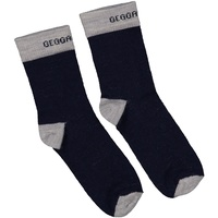 Wool socks Navy/Grey