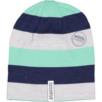 Wool cap Green stripe