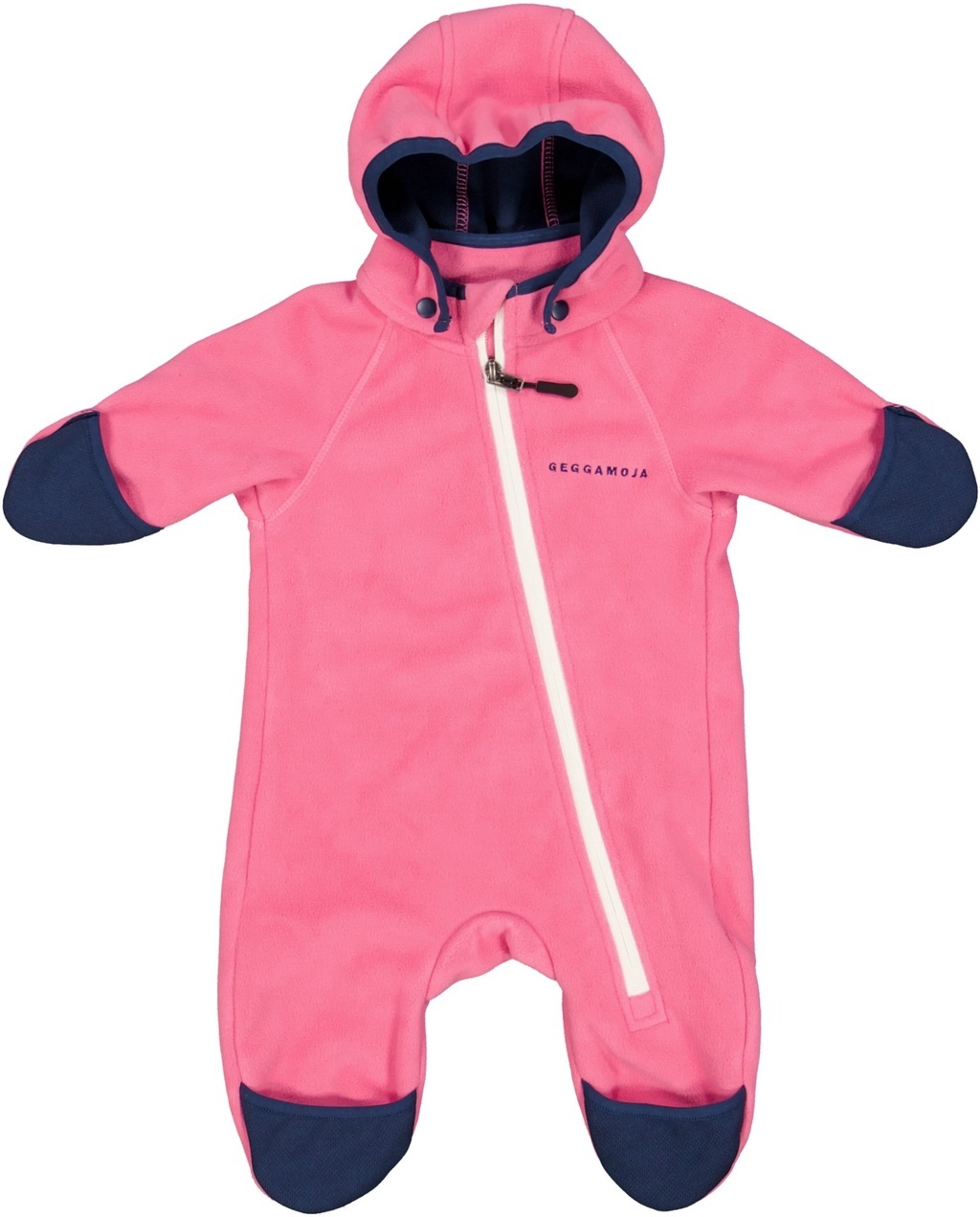 Vindfleeceoverall Rosa  74/80