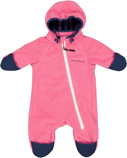 Vindfleeceoverall Rosa