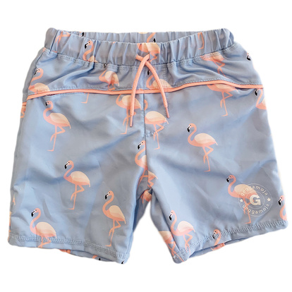 UV-shorts Flamingo