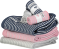 Baby blanket Classic Marin blue stripe
