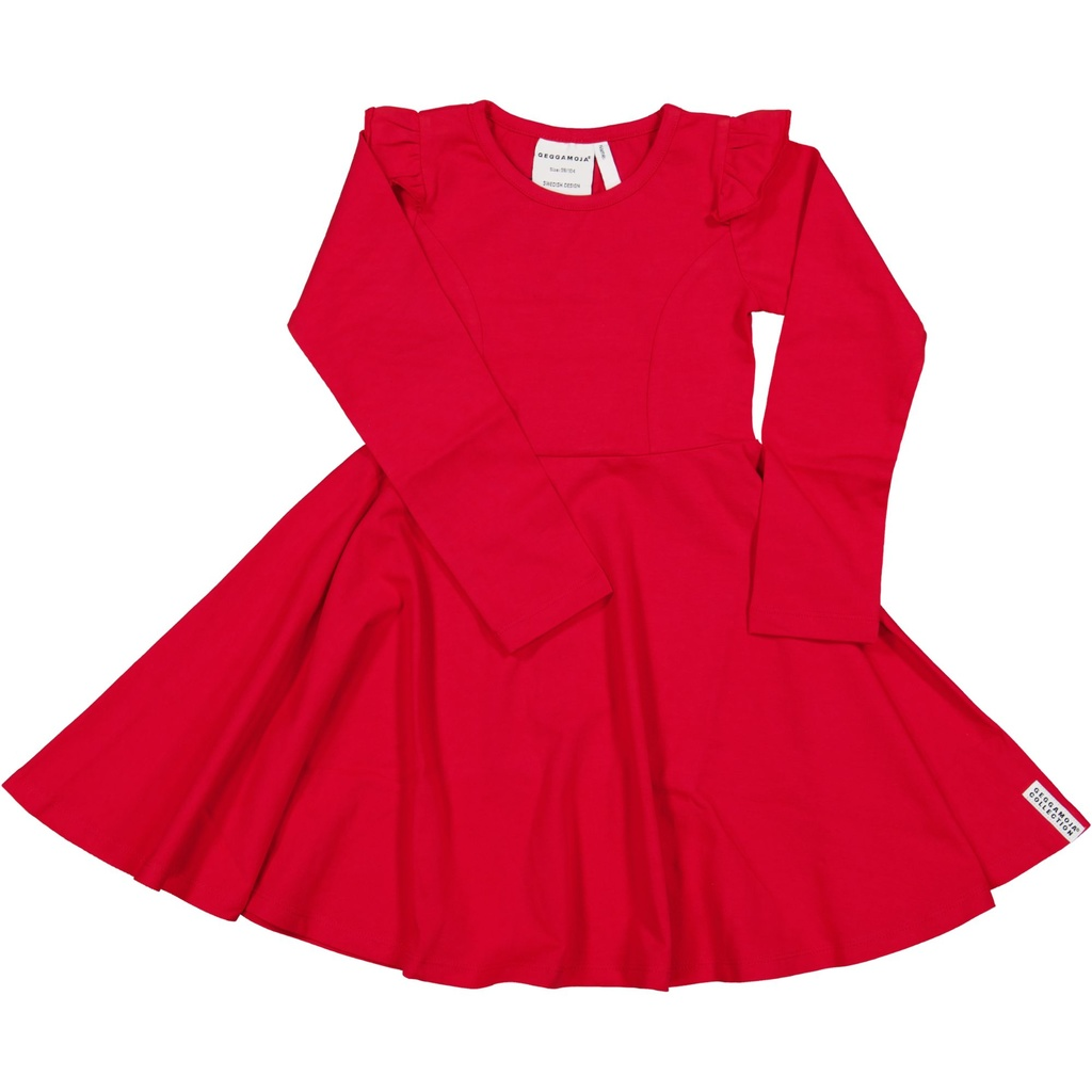 Flared dress Red  50/56