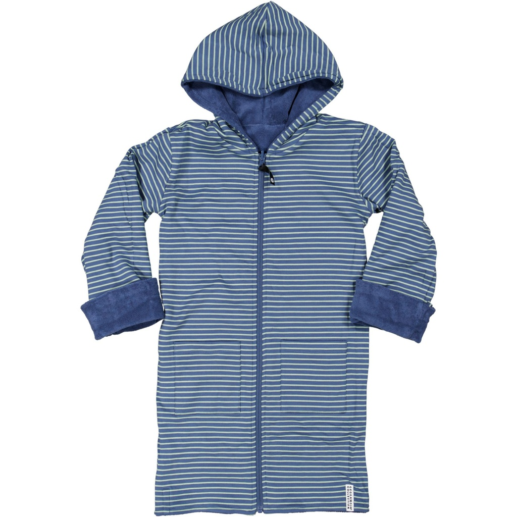 Kids Bathrobe China blue 01 110/116