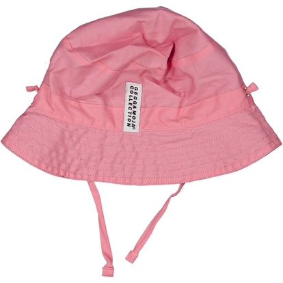 Reversible Sunny hat Navy/pink
