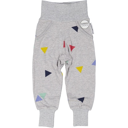 Bamboo pant Grey triangle