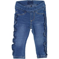 Jeggings frill denim