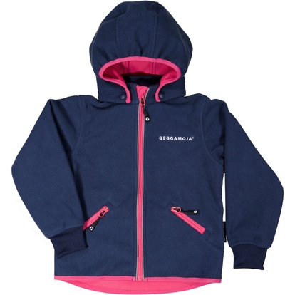 Fleece jacket Navy/cerise