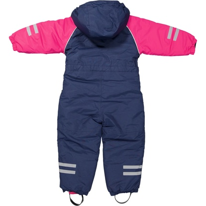 Uni Toddler Winter overall Navy/cerise