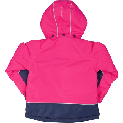 Winter jacket Navy/cerise