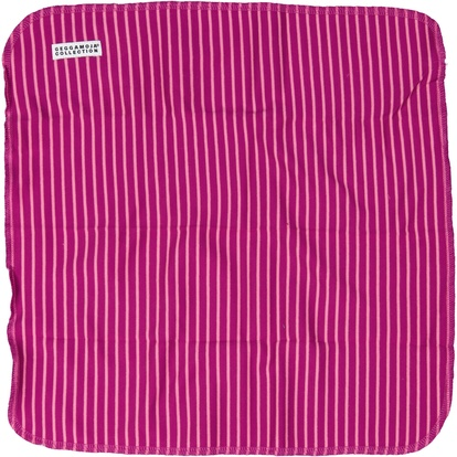 Snuttefilt Purplepink stripe  One Size