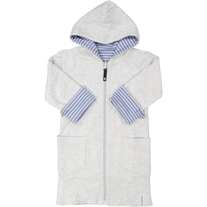 Kids bathrobe Infinity blue str