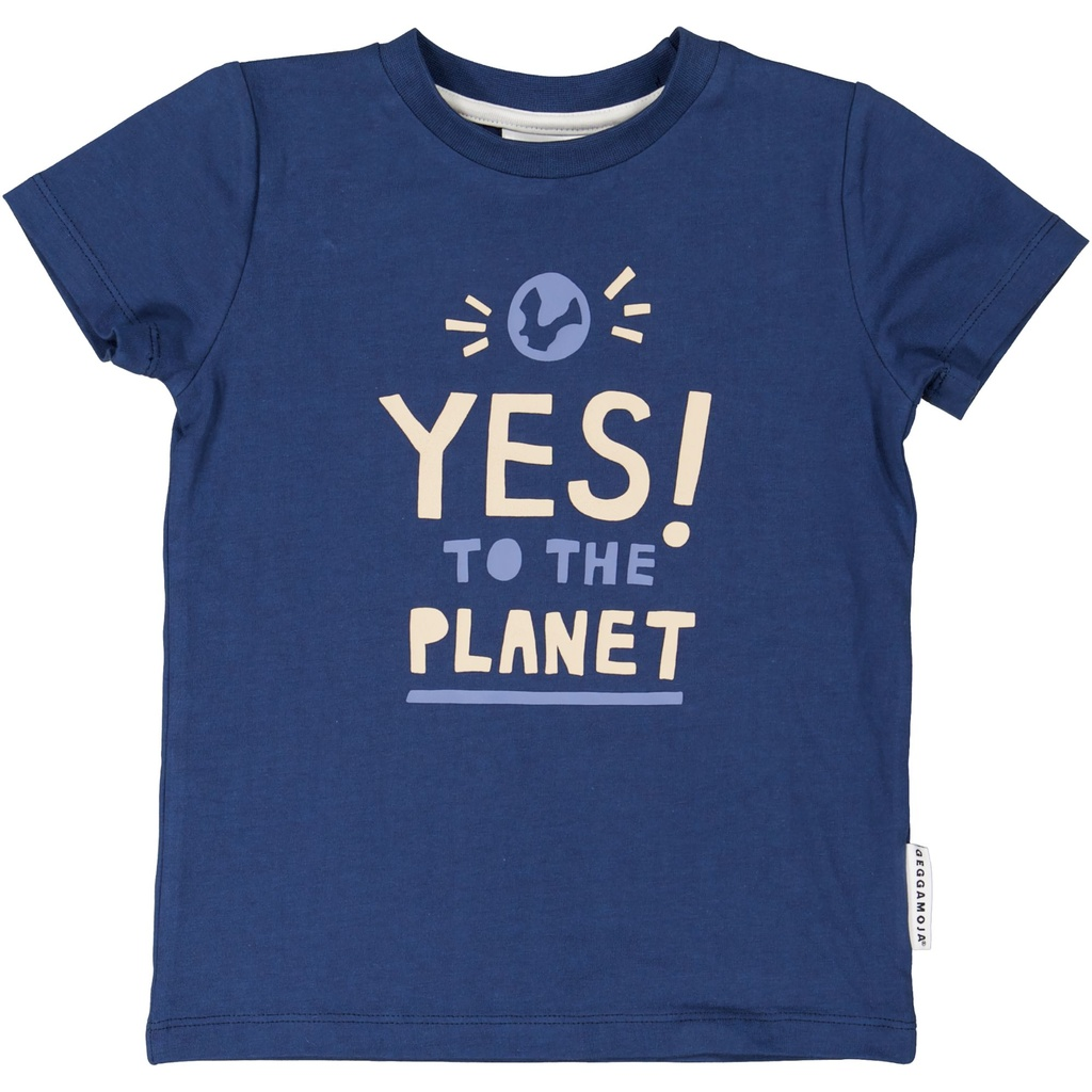 T-shirt Yes to the planet 86/92