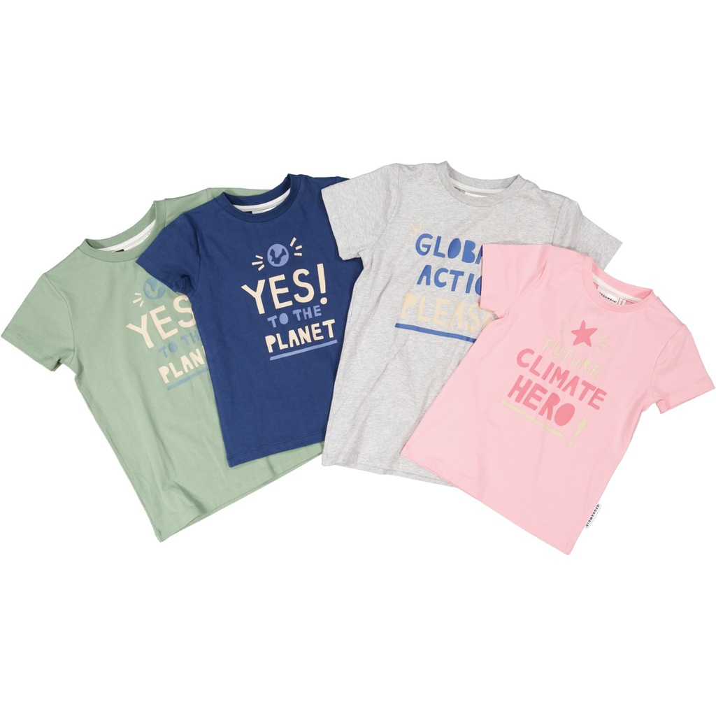T-shirt Yes to the planet 122/128