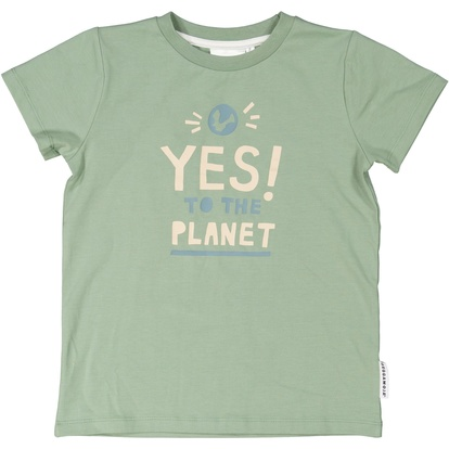 T-shirt Yes to the planet