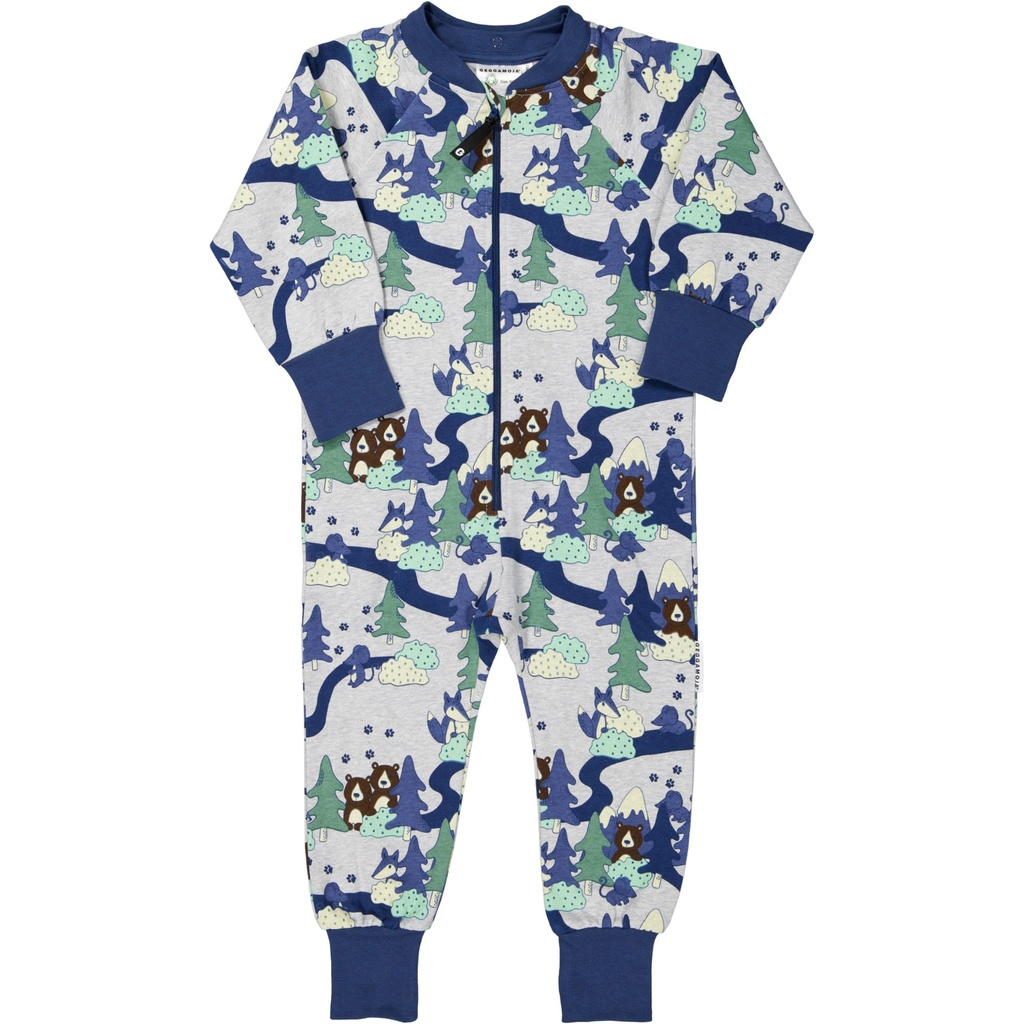 College jumpsuit Skog 122/128