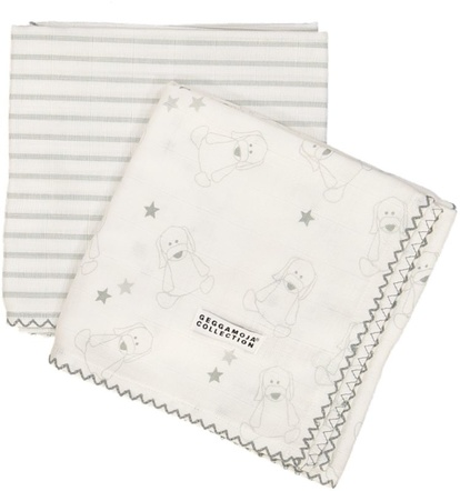 Bamboo blankets White/Grey