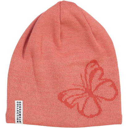 Knitted beanie Butterfly